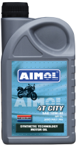 4-тактное моторное масло AIMOL 4T City 10W-40