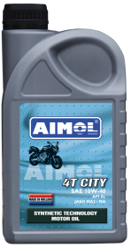 Моторное масло для 4-тактных двигателей AIMOL 4T Race Bike 5W-40